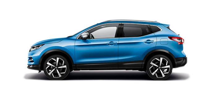 Nissan Qashqai Car Rental Dublin Airport