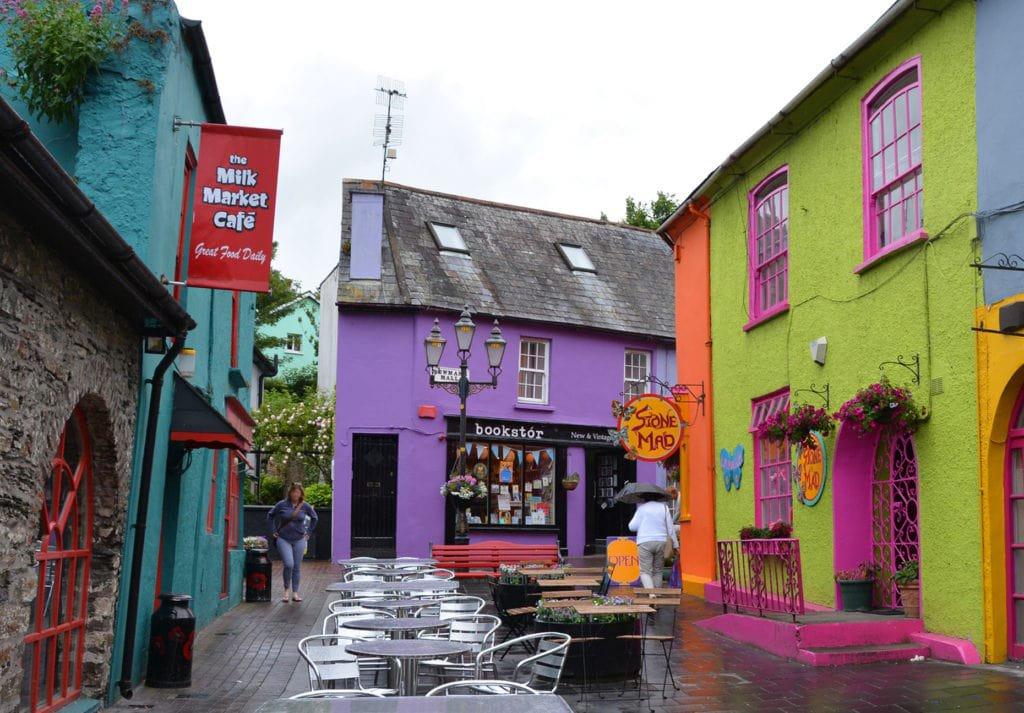 coloured buildings in Kinsale , Cork